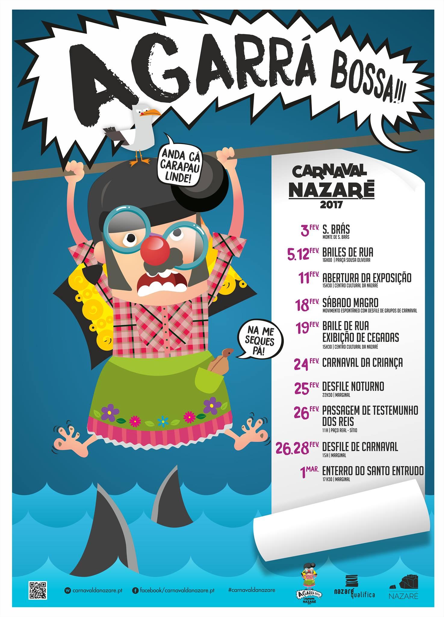 Programa do Carnaval da Nazaré 2017