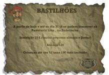 bastilhoes 2016 inscricoes