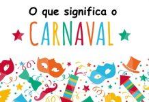 o que significa carnaval?